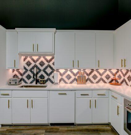 Sleek and Modern Kitchen Fashion
